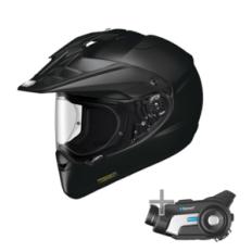 Shoei Hornet X2 Helmet + Sena 10C Headset