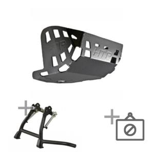 Happy-Trail Skid Plate + Center Stand + PD Nerf Engine Guards